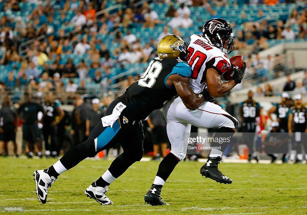 Atlanta Falcons v Jacksonville Jaguars : News Photo