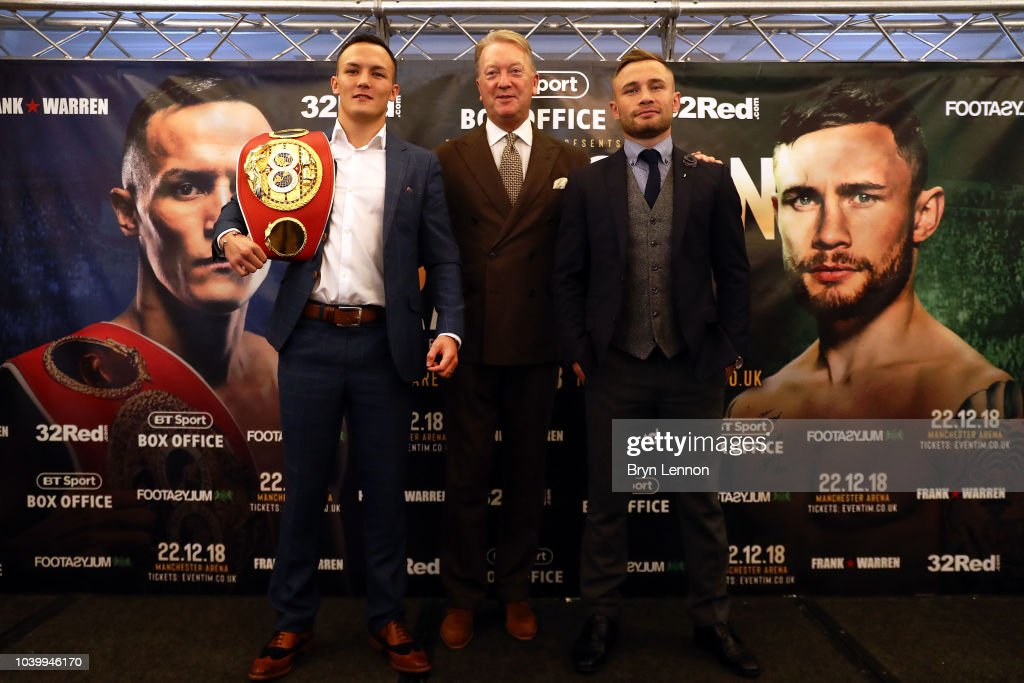 Josh Warrington and Carl Frampton Media Tour