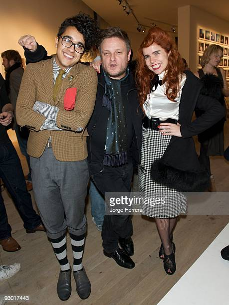 Josh Weller Rankin and Paloma Faith attend Youth Music's 10th Birthday at Phillips de Pury And Company on November 12 2009 in London England