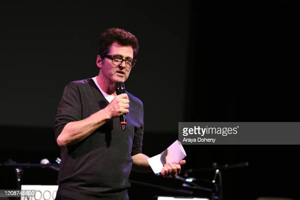 "Josh Welsh at the Film Independent Screening Series Presents Live Read Of ""Breaking Away"" at Wallis Annenberg Center for the Performing Arts on..."