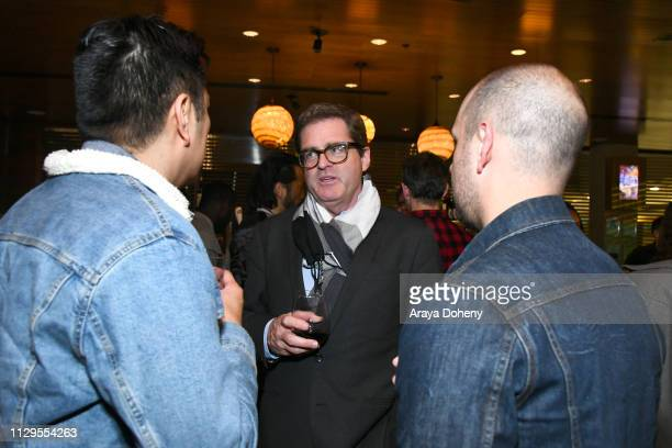 Josh Welsh attends the Film Independent Directors CloseUp Another Type Of Narrative The Truth Of Docs at The Landmark on February 13 2019 in Los...