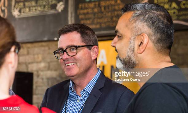 Josh Welsh President Film Independent attends the DGA Reception during 2017 Los Angeles Film Festival at City Tavern on June 16 2017 in Culver City...