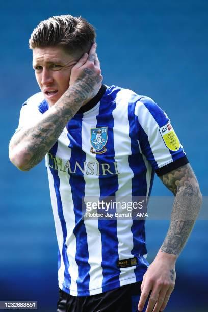 Josh Windass of Sheffield Wednesday during the Sky Bet Championship match between Sheffield Wednesday and Nottingham Forest at Hillsborough Stadium...