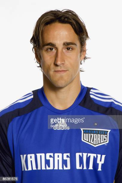 Josh Wolff of the Kansas City Wizards poses for a photo on February 24 2009 at Swope Park Training Facility in Kansas City Missouri