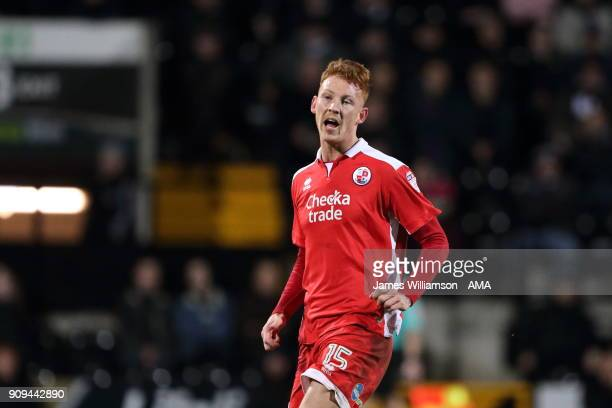 Josh Yorwerth of Crawley Town during the Sky Bet League Two match between Notts County and Crawley Town at Meadow Lane on January 23 2018 in...