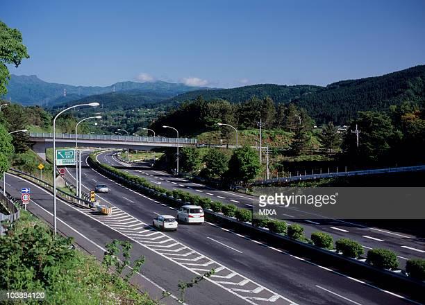 Joshin-etsu Expressway, Annaka, Gunma, Japan