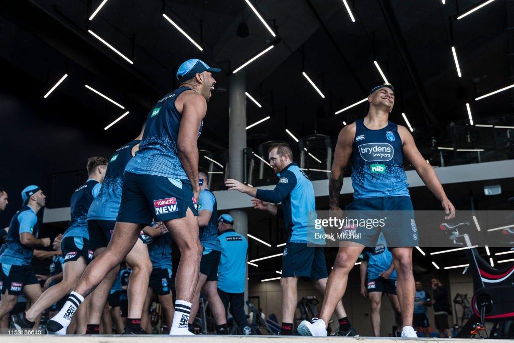 NSW Blues Training Session : News Photo