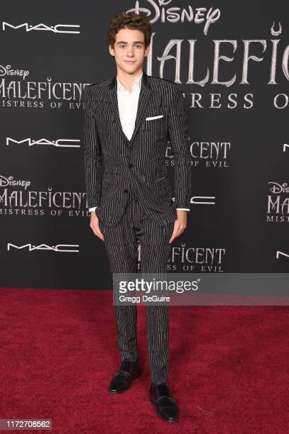 Joshua Bassett arrives at the World Premiere Of Disney's Maleficent Mistress Of Evil at El Capitan Theatre on September 30 2019 in Los Angeles...