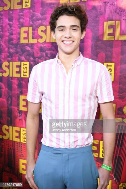 Joshua Bassett attends the 5th Annual Elsie Fest Broadway's Outdoor Music Festival on October 05 2019 in New York City