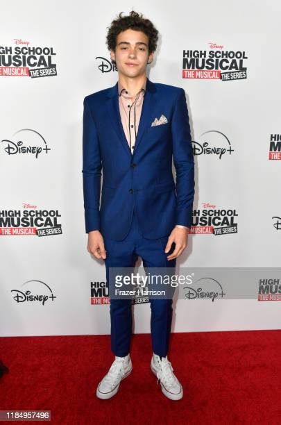"Joshua Bassett attends the Premiere Of Disney+'s ""High School Musical: Joshua Bassett attends the Premiere Of Disney+'s ""High School Musical: The..."