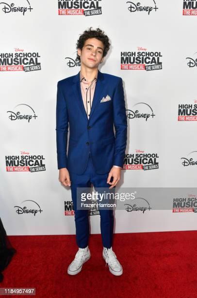 Joshua Bassett attends the Premiere Of Disney's High School Musical Joshua Bassett attends the Premiere Of Disney's High School Musical The Musical...