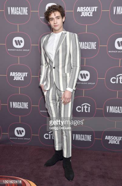 Joshua Bassett attends the Warner Music Group Pre-Grammy Party 2020 at Hollywood Athletic Club on January 23, 2020 in Hollywood, California.