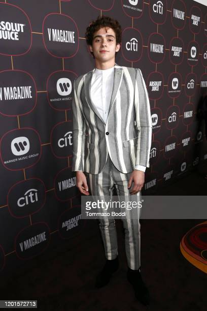 Joshua Bassett attends the Warner Music Group PreGrammy Party at Hollywood Athletic Club on January 23 2020 in Hollywood California