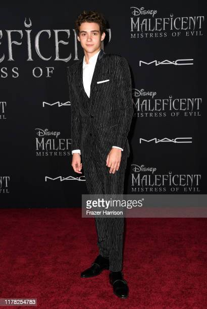 "Joshua Bassett attends the World Premiere Of Disney's ""Maleficent: Mistress Of Evil"" - Red Carpet at El Capitan Theatre on September 30, 2019 in Los..."