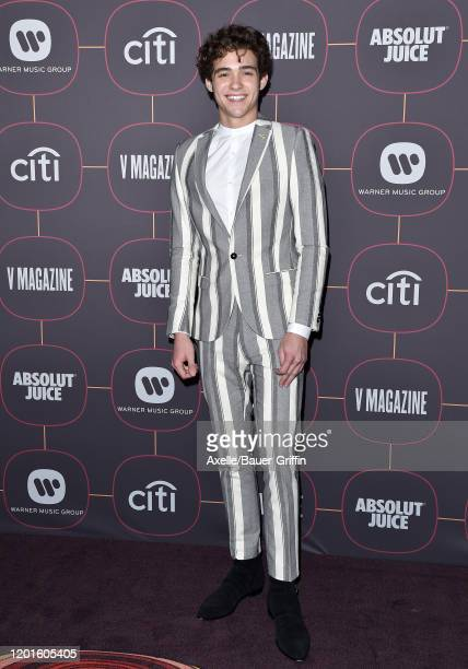 Joshua Bassett attends Warner Music Group Pre-Grammy Party 2020 at Hollywood Athletic Club on January 23, 2020 in Hollywood, California.