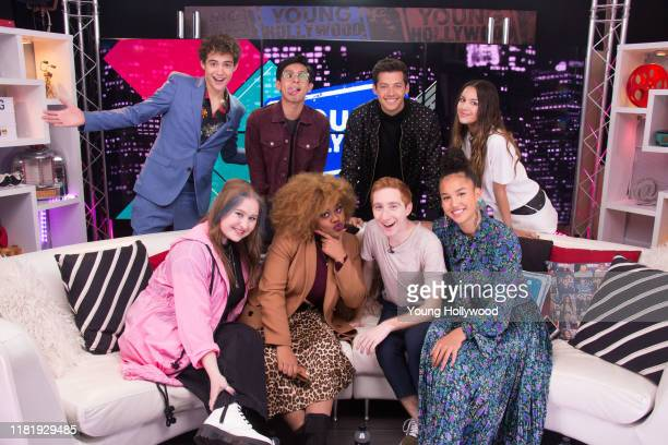Joshua Bassett, Frankie Rodriguez, Matt Cornett, Olivia Rodrigo, Julia Lester, Dara Renee, Larry Saperstein, and Sofia Wylie at the Young Hollywood...