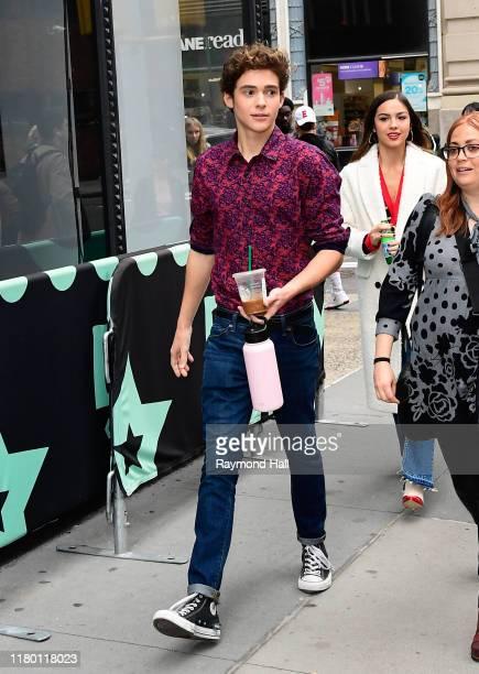 Joshua Bassett is seen outside Build Studio on November 5, 2019 in New York City.