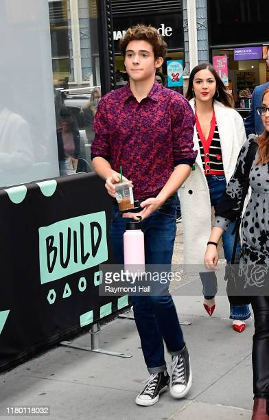 Joshua Bassett is seen outside Build Studio on November 5, 2019 in New York City.
