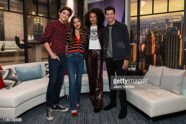 Joshua Bassett Olivia Rodrigo Sofia Wylie and Matt Cornett visit People Now on November 5 2019 in New York United States