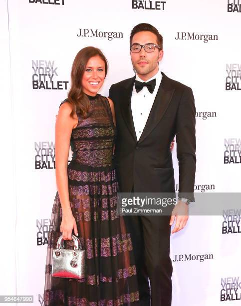 Joshua Bergasse and guest attend the 2018 New York City Ballet Spring Gala at David H Koch Theater Lincoln Center on May 3 2018 in New York City