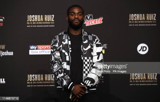 Joshua Buatsi during the undercard press conference at Madison Square Garden New York
