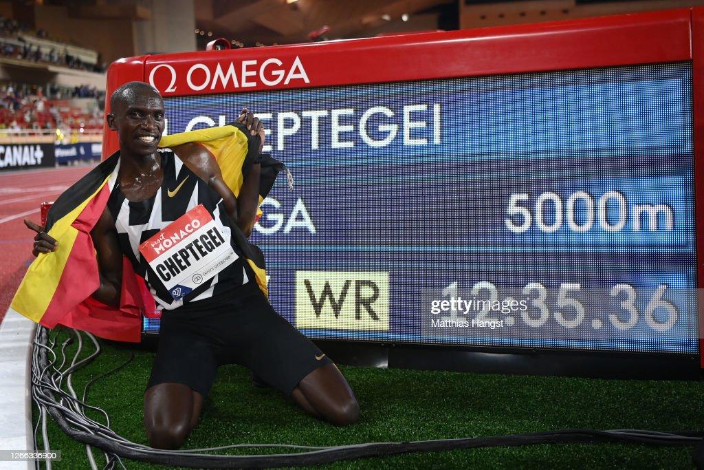 Monaco - 2020 Diamond League : News Photo