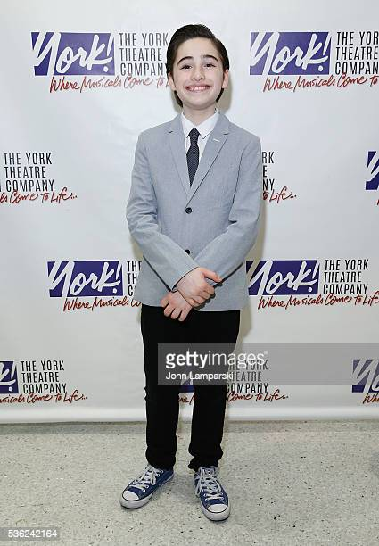 Joshua Colley attends 'You're A Good Man Charlie Brown' opening night after party at Dylan's Candy Bar on May 31 2016 in New York City