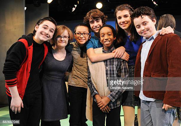 Joshua Colley Milly Shapiro Gregory Diaz Aidan Gemme Jeremy T Villas Mavis SimpsonErnst and Graydon Peter Yosowitz attend 'You're A Good Man Charlie...