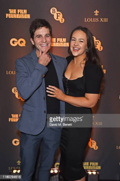 Joshua Collins and Eliza Butterworth attend attends the second worldwide screening of The Broken Butterfly hosted by Louis XIII Cognac and The Film...