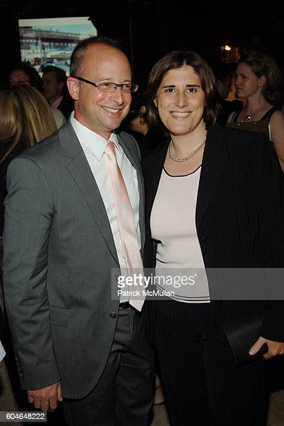 Joshua David and Kim Catullo attend FRIENDS OF THE HIGH LINE 6th Annual Summer Benefit at Cipriani Wall Street on June 21 2006 in New York City