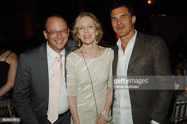 Joshua David Karin Bacon and Andre Balazs attend FRIENDS OF THE HIGH LINE 6th Annual Summer Benefit at Cipriani Wall Street on June 21 2006 in New...