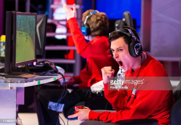 Joshua D'Eri during the 2019 NHL Gaming World Championship - Canadian Regional Finals at the Sportsnet Studio on May 25, 2019 in Toronto, Ontario,...