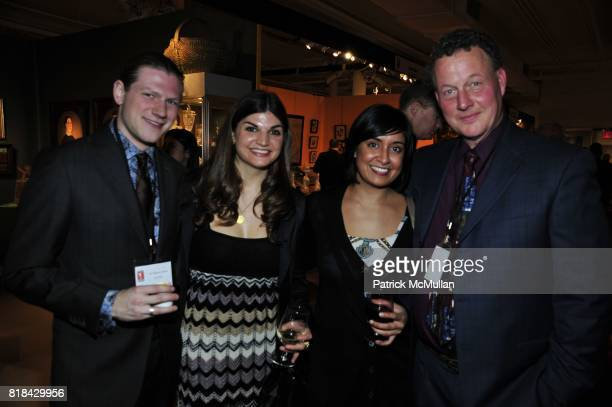Joshua Dick Andrea Boccard Karen Chahal and John Welch attend THE AMERICAN ANTIQUES SHOW BENEFIT PREVIEW Celebrates TEXAS Sponsored by The Magazine...