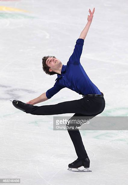 Joshua Farris of United States performs during the Men Short Program on day one of the ISU Four Continents Figure Skating Championships 2015 at the...