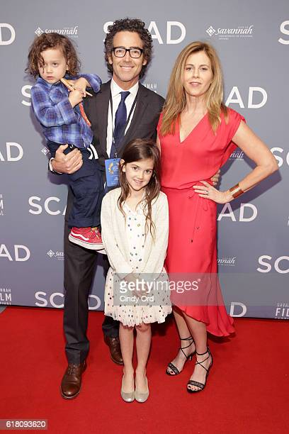 Joshua Fortson John Fortson Abby Ryder Fortson and Christie Lynn Smith attend the Miles Teller Vanguard Award Presentation during the 19th Annual...