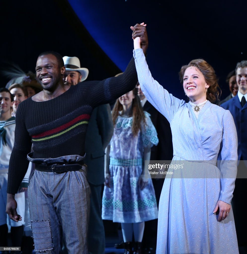 """Carousel"" Broadway Opening Night - Curtain Call"