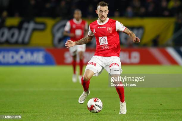 Joshua Holtby of MVV during the Dutch Keuken Kampioen Divisie match between NAC Breda v MVV Maastricht at the Rat Verlegh Stadium on November 29,...
