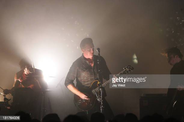 Joshua Homme of Queens Of The Stone Age performs in concert at the Rolling Stone SXSW Showcase at La Zona Rosa on March 16 2011 in Austin Texas