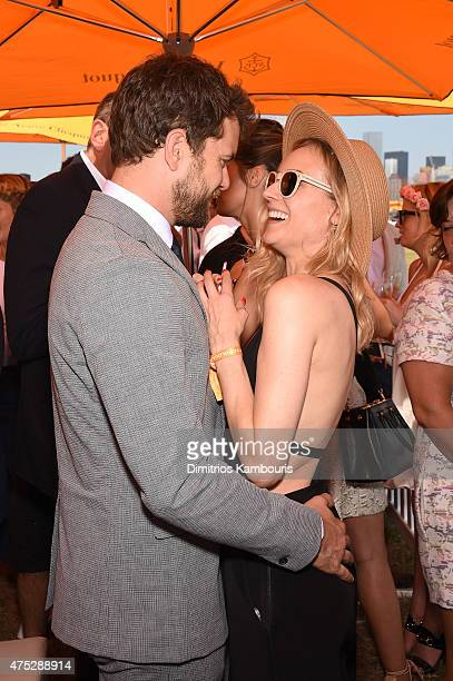 Joshua Jackson and Diane Kruger attend the EighthAnnual Veuve Clicquot Polo Classic at Liberty State Park on May 30 2015 in Jersey City New Jersey