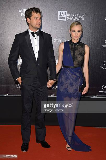 Joshua Jackson and Diane Kruger attend the Haiti Carnival In Cannes Benefitting J/P HRO Artists For Peace and Justice Happy Hearts Fund Presented By...
