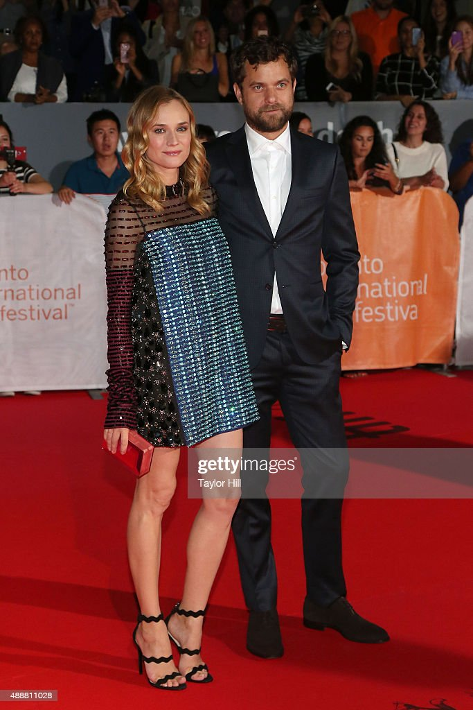 Joshua Jackson and Diane Kruger attend the premiere of 'Disorder' at Roy Thomson Hall during the 2015 Toronto International Film Festival on September 17, 2015 in Toronto, Canada.