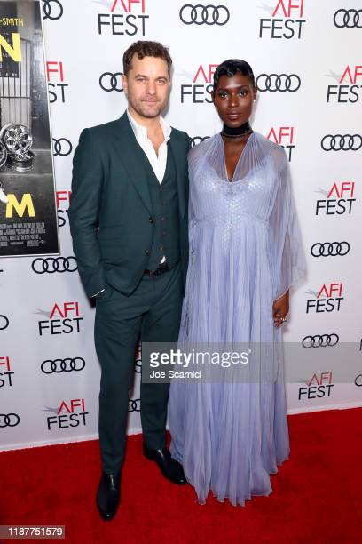 Joshua Jackson and Jodie TurnerSmith attend AFI FEST 2019 Presented by Audi Opening Night World Premiere Of Queen Slim on November 14 2019 in...