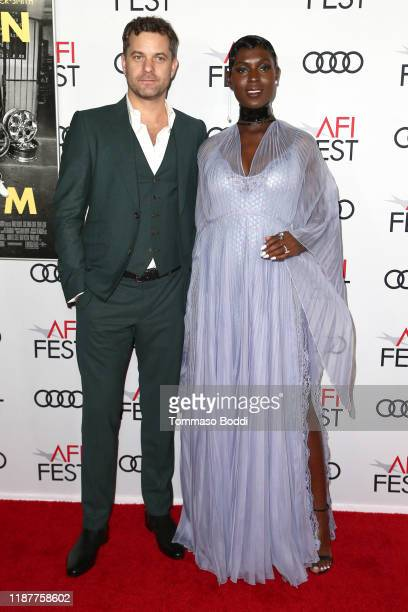 Joshua Jackson and Jodie TurnerSmith attend the AFI FEST 2019 Presented By Audi premiere of Queen Slim at TCL Chinese Theatre on November 14 2019 in...