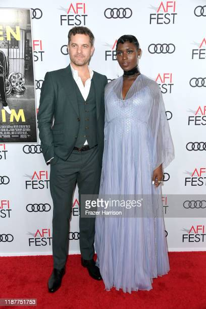 Joshua Jackson and Jodie TurnerSmith attend the Queen Slim Premiere at AFI FEST 2019 presented by Audi at the TCL Chinese Theatre on November 14 2019...