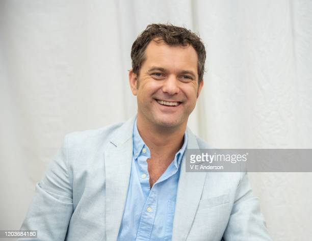 """Joshua Jackson at the """"Little Fires Everywhere"""" set visit at The Lot Studios on October 15, 2019 in Los Angeles, California."""