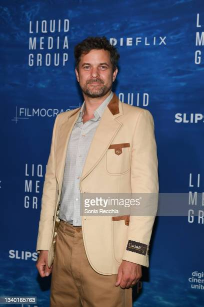 """Joshua Jackson attends """"Joshua Jackson and his Company Liquid Media Group host THE BIG SPLASH"""" at Windsor Arms Hotel on September 13, 2021 in..."""