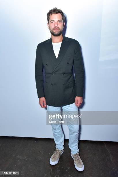 Joshua Jackson attends the Todd Snyder S/S 2019 Collection during NYFW Men's July 2018 at Industria Studios on July 11 2018 in New York City