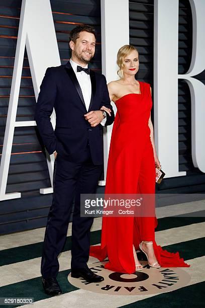 Joshua Jackson Diane Kruger Vanity Fair Oscar Party 2015 Beverly Hills CA February 22 2015 ��Kurt Krieger