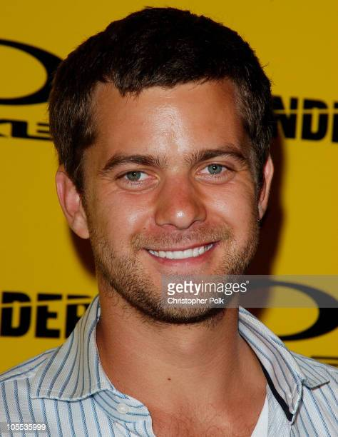 Joshua Jackson during Blender/Oakley X Games Party - Arrivals at The Key Club in Los Angeles, California, United States.