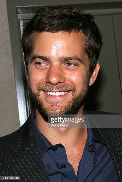 Joshua Jackson during Terrence McNally's Dedication or The Stuff of Dreams Cast Party at Bottega El Vino in New York City New York United States